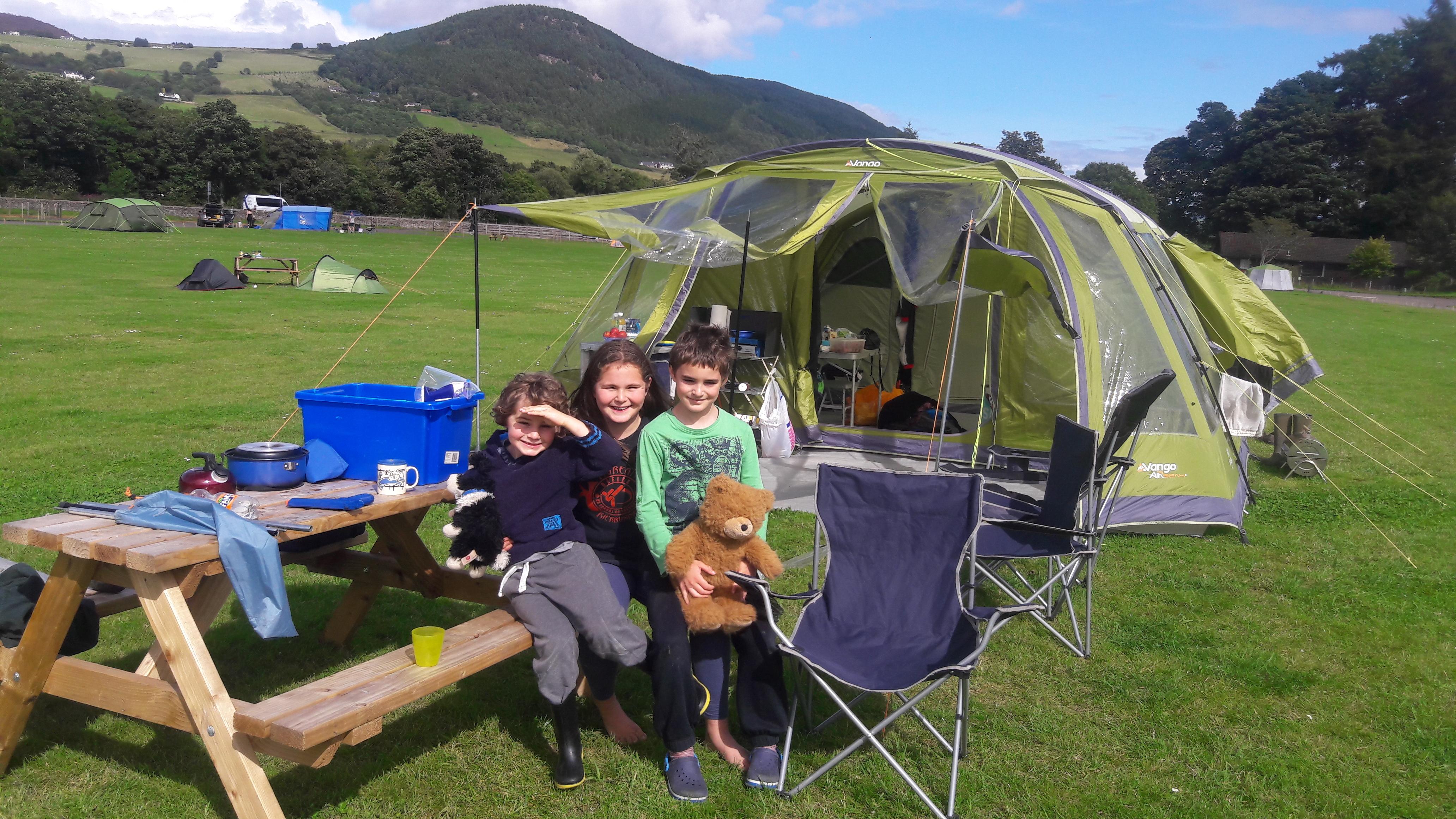 Loch Ness Bay Camping